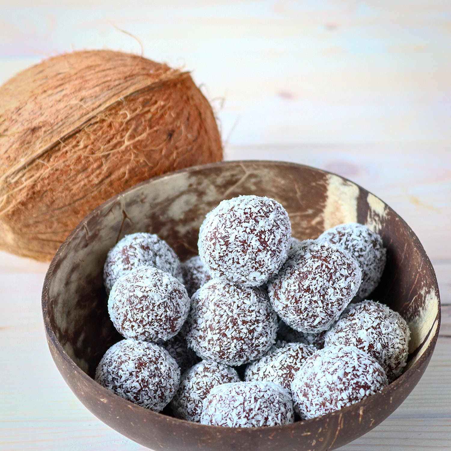 Raw Cashew and Cacao Bliss Balls