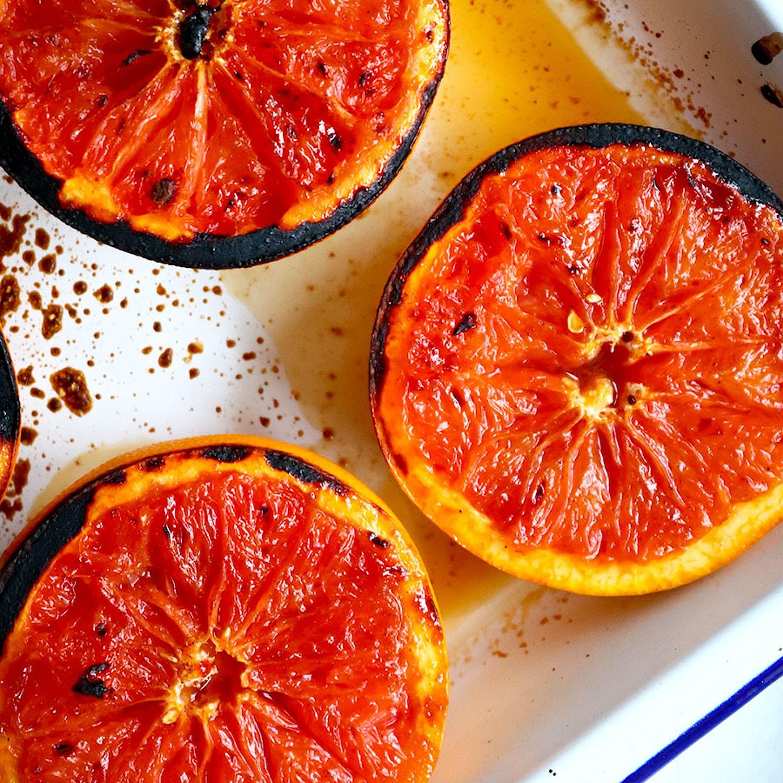 Grilled Cinnamon Grapefruit
