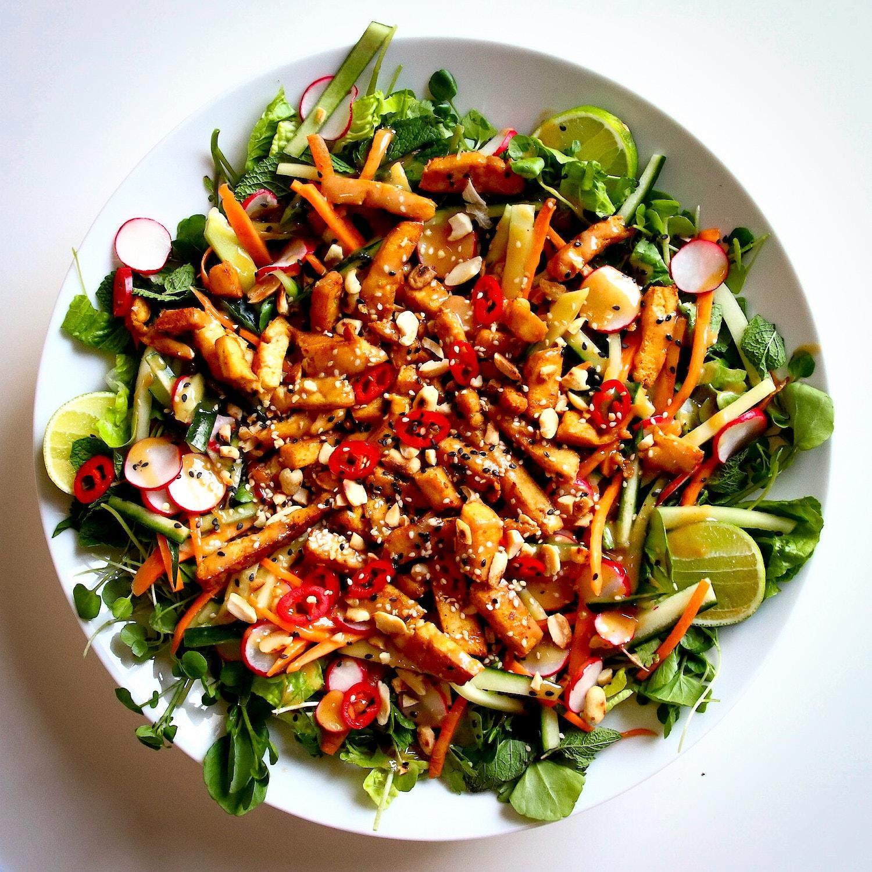 Bang Bang Tofu Salad