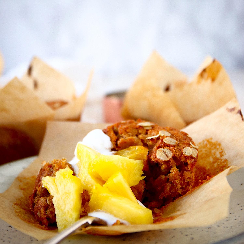 Pineapple Breakfast Muffins