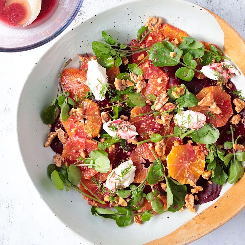 Roast Beetroot and Orange Salad