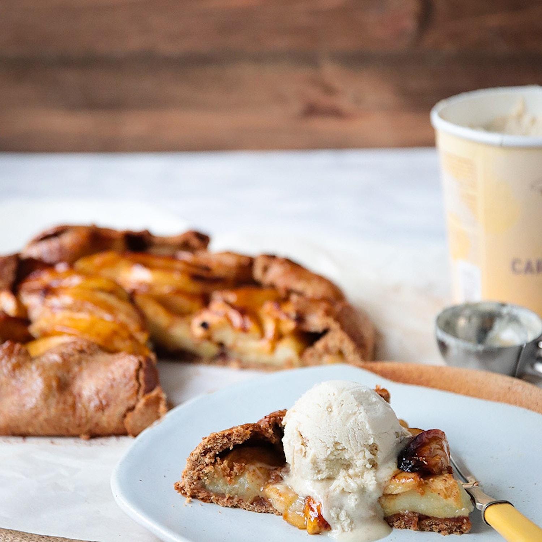 Bramley Apple and Cinnamon Galette
