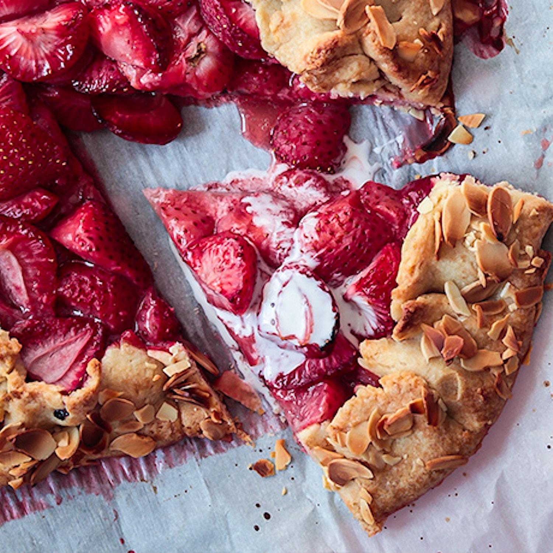 Strawberry and Almond Crostata