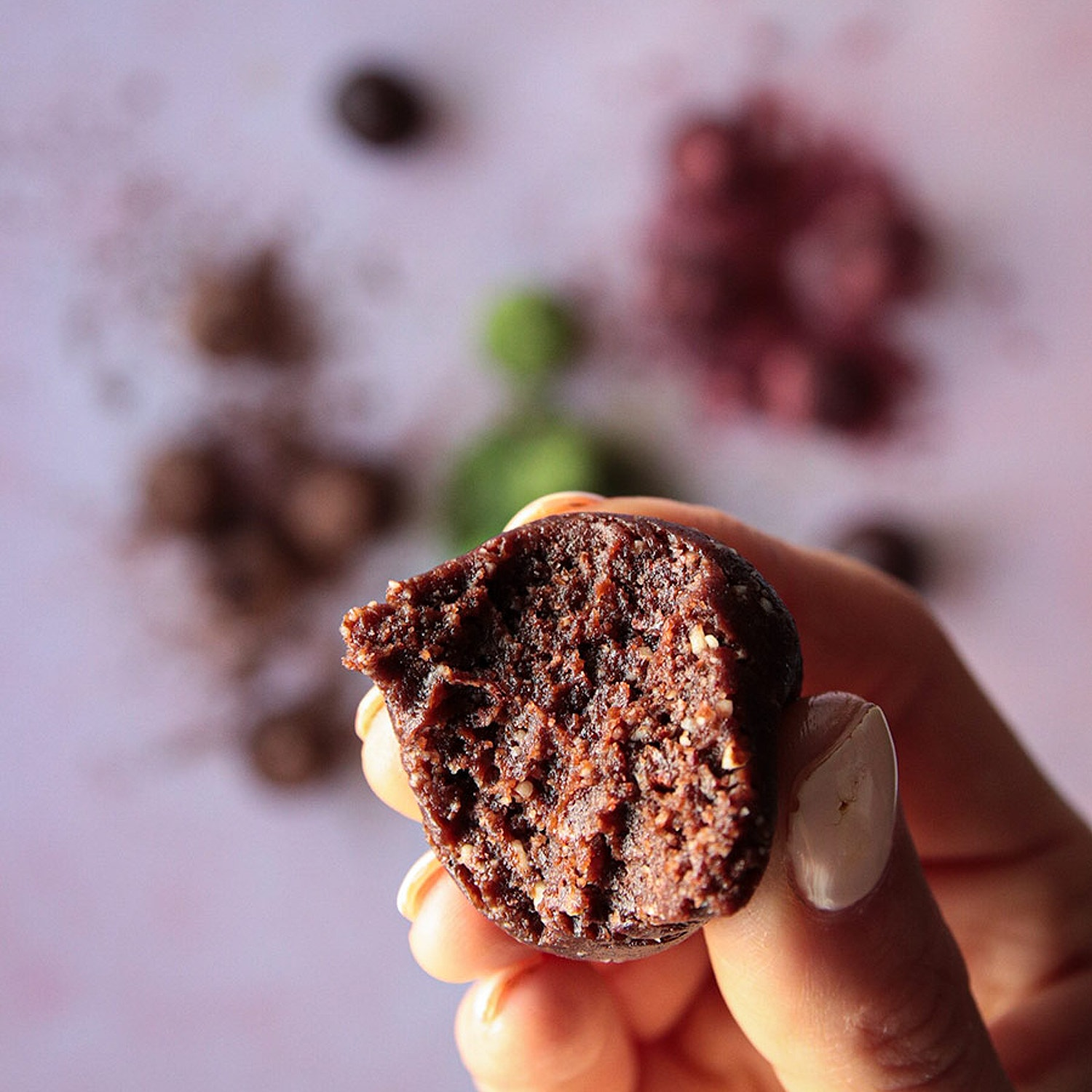 Nutty cacao energy balls