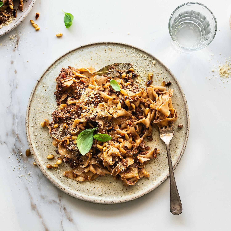 Epic Mushroom & Walnut Ragu